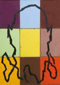 sans titre (polyptych) by bernard quesniaux