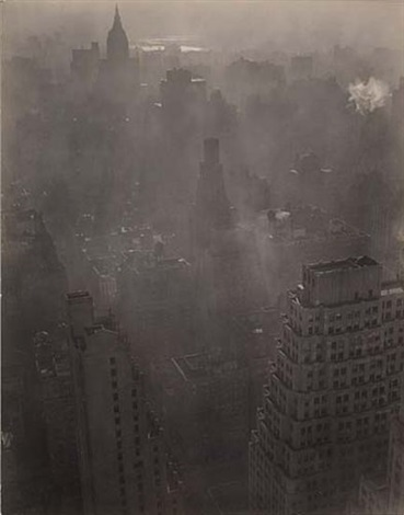 view of manhattan by berenice abbott