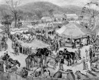 riverton fair, connecticut by george baer