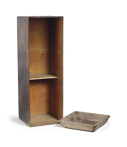 stacking cupboard and peel potato dish 2 works by gerrit rietveld