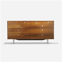 thin edge cabinet (model 5723) by george nelson & associates
