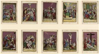 passionsbildchen (10 works) by michiel bunel