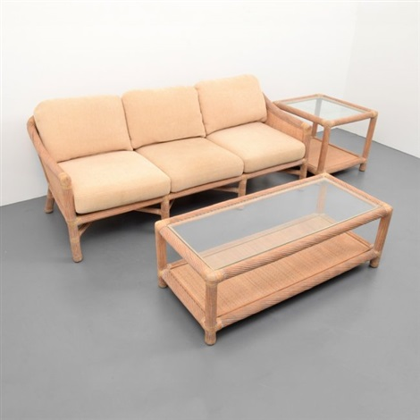 Mcguire Sofa, Coffee Table U0026 End Table By Mcguire Company