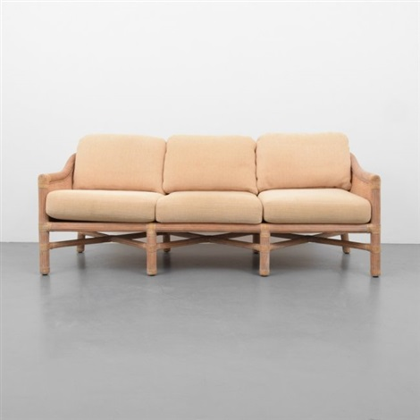 Merveilleux Mcguire Sofa, Coffee Table U0026 End Table By Mcguire Company