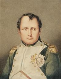 napoleon bonaparte. brustbildnis by günther friedrich reibisch