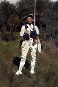 soldat der står vagt by carl röchling
