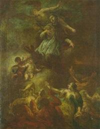 die verklärung des heiligen johannes von nepomuk by meinrad von aw