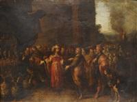 creso mostrando sus riquezas a solón by frans francken the elder