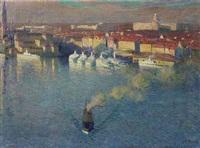 hafen von stockholm by heine rath