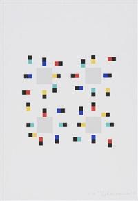 vier variationen um ein quadrat (portfolio of 4) by verena loewensberg