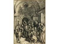 the circumcision of christ (from the life of the virgin (bartsch 86)) by albrecht dürer