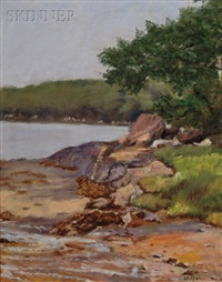 boothbay harbor, maine by anna elizabeth allen