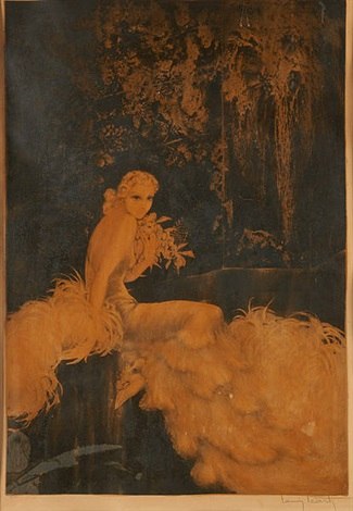 orchidée by louis icart