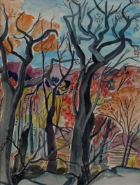 autumn by fritz brandtner