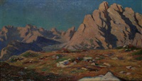 panorama alpino by pio solero