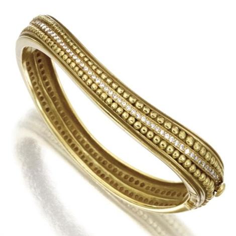 a bangle bracelet by kieselstein cord