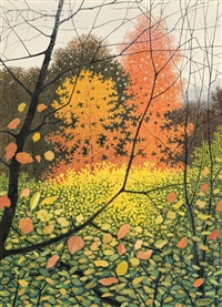 autumn splendor by rolland harve golden