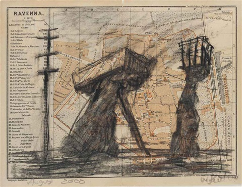 untitled ravenna by william kentridge