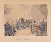 départ du maréchal by mihály von zichy