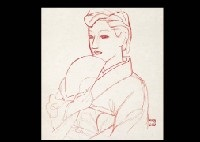 woman (sketch) by meiji hashimoto