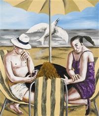 under the umbrella by natalia nesterova