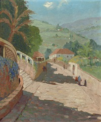 route de st. crux, madeira (+ 2 others; 3 works) by johan van der bilt