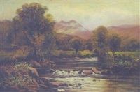 on the river llugwy by john gunson atkinson