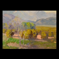 california foothills by franz arthur bischoff