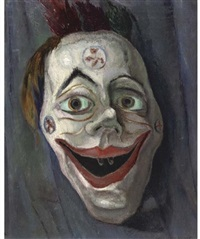 clown mask by johan buning