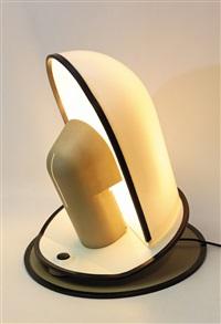 lampada da tavolo pala (model no. 490) by danilo & corrado aroldi