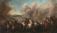 the battle of podhajce by jacques courtois