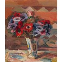 stillleben mit anemonen by abram adolphe milich