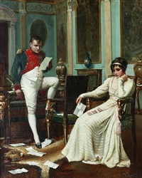 napoleon and josephine by harold h. piffard