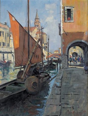 canale veneziano by cesare esposito