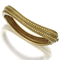 a bangle-bracelet by kieselstein-cord