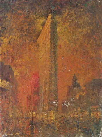 new york by louis icart