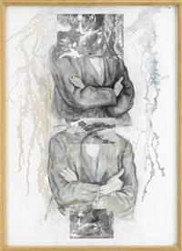 två i kors (efter paul cézanne), rivulets by gert aspelin