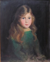 portrait of marjorie mcinnes by cowan dobson