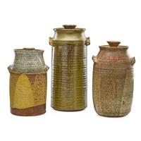 Large lidded vessels (3 works)