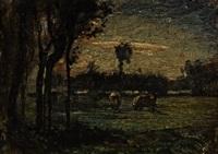 pascolo by antonio fontanesi
