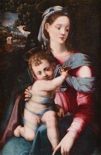 madonna con il bambin gesù by francesco del brina