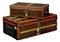 suitcase (+ trunk, lrgr; 2 pieces) by louis vuitton