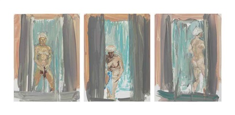 untitled in 3 parts by eric fischl