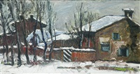 neve a riva di chieri by metello merlo