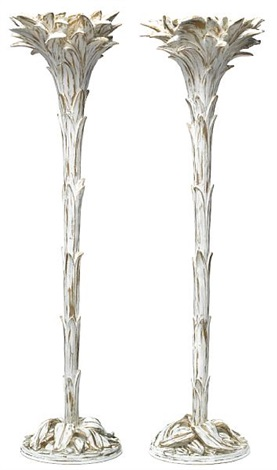 Palm tree floor lamps pair by serge roche on artnet palm tree floor lamps pair by serge roche aloadofball Choice Image