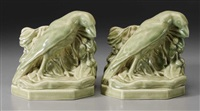 bookends (pair) by william purcell mcdonald