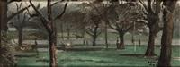 regent's park by adrian maurice daintrey
