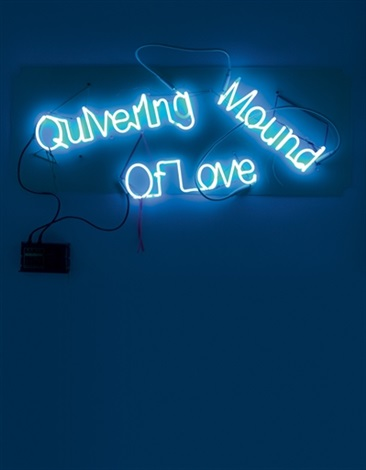 quivering mound of love by jason rhoades