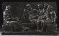 socrates and his disciples by ivan mestrovic
