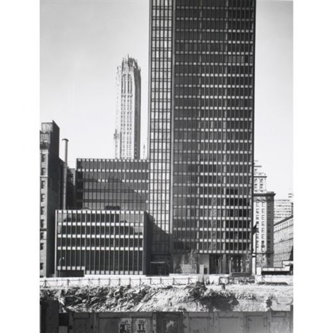 seagram building exterior evelations 2 works by ezra stoller
